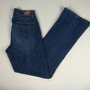 Levi's Curvy Boot Cut 529 Jeans Size 8M